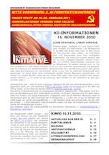 KI-INFORMATIONEN 15.11.10k
